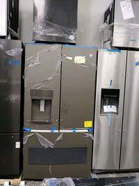 GE french doors refrigerator