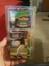 Rockies team cards Jessup, 20794