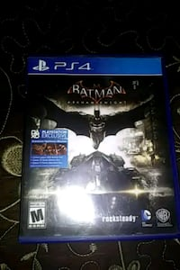 PS4 Batman Arkham Knight game case Exeter, 93221