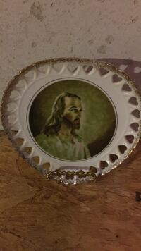 Jesus Christ printed decorative plate Fairview Heights, 62208