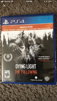 Dying light ps4 game Houston, 77053