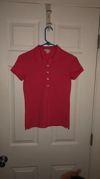 red button-up shirt 55 km