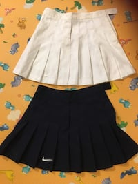 Nike girls tennis skirts (black &white) small size Fairfax, 22033