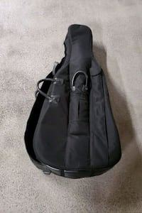 LARGE GUITAR CASE WITH WHEELS