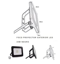 Proyector led exterior Murcia, 30002