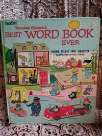 Richard Scarry's Best Word Book Ever Campbell, 95008