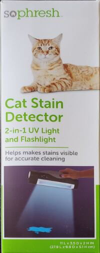 Cat Stain Detector 2-In-1 UV Light And Flash Light BRAND NEW Victorville