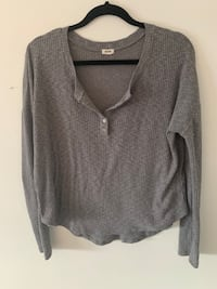 Grey Garage Long Sleeve Button Top London, N6C 4W7