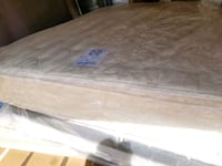Pillowtop Queen mattress 230 box $30 delivery 30 Edmonton, T5G 3E1