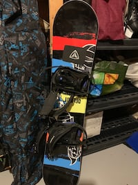 Firefly snowboard and bindings junior 47 inches long Oakville