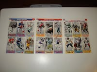 1993 GameDay Collector Football Player Cards Complete Set McDonalds!!! - $10