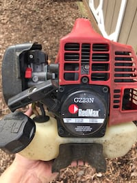 Red Max lawn edger