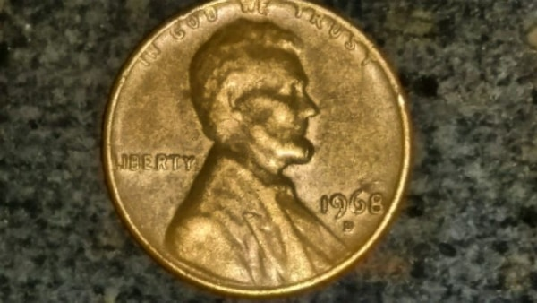 1968 D RPM Penny  Great Condition!