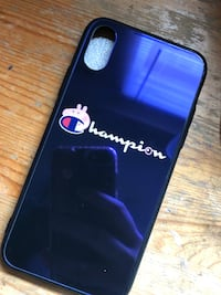 New iPhone XS glass peppa pig x champion phone case Surrey, V3T 3H1