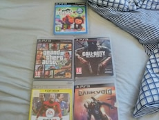 Sony PS3 Call of Duty Black OPS og Grand Theft Aut