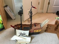 Pirate ship Amaranth, L9V 3J3