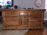 Solid wood Dresser with mirror  Annandale, 22003