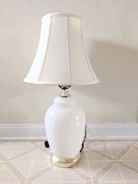 white and gray table lamp 13 km