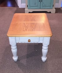 End Table Chalk Painted Dark Cream Great Condition  Toms River, 08753
