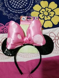 NEW MINNIE MOUSE HEADBAND FROM DISNEY STORE 2317 mi