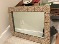 Tin Tile Wall Mirror Arlington, 22207