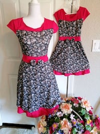 Matching Dress For Mom and 3-4yr old daughter  Rancho Cordova, 95670