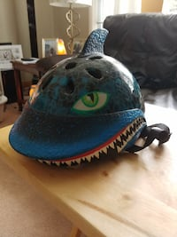 blue Shark bike helmet Strathroy