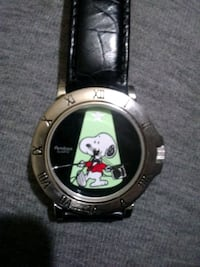 Snoopy Armitron watch 1958 ufc 900/203 with leather band