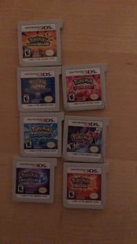 nine assorted Nintendo DS game cartridges Reston, 20191