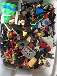 Bin of LEGOs including pieces to Star Wars, Harry Potter, etc ASHBURN