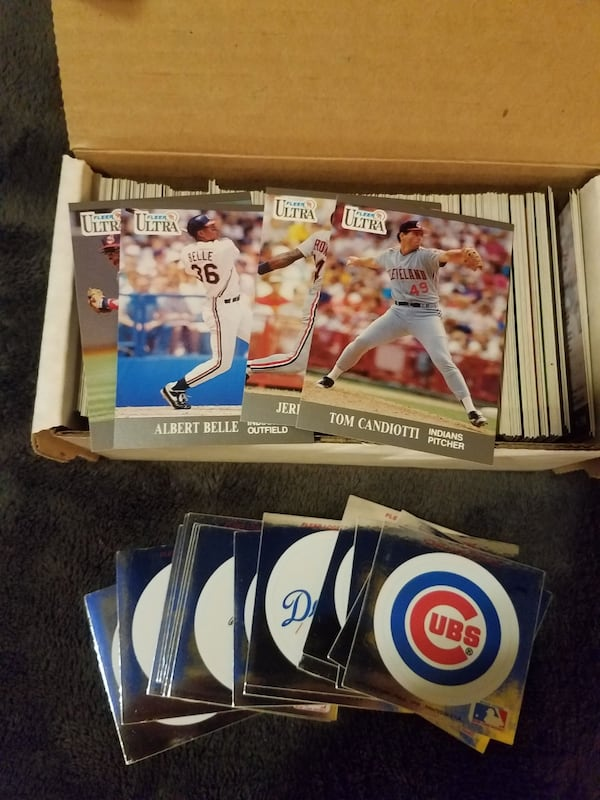 2 complete sets of 1991 ultra fleer card sets with stickers.  2eb73652-5e73-4d33-8b76-ac36a95893fb