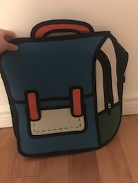 2D iconic backpack