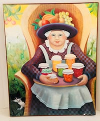 Farmhouse Picture Grandma with Canning Goods Altamonte Springs, 32714