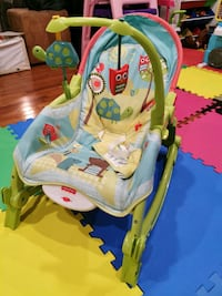 Baby rock chair