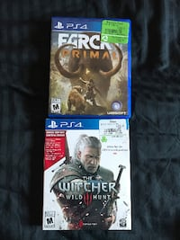 two Sony PS4 game cases Guelph