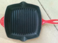 Le   cruset grill skillet 165 km