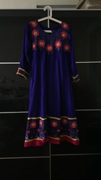 women's purple and red floral dress New York, 10458