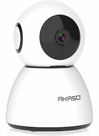 New AKASO WiFi Camera Security Camera, 1080P Home Surveillance Camera