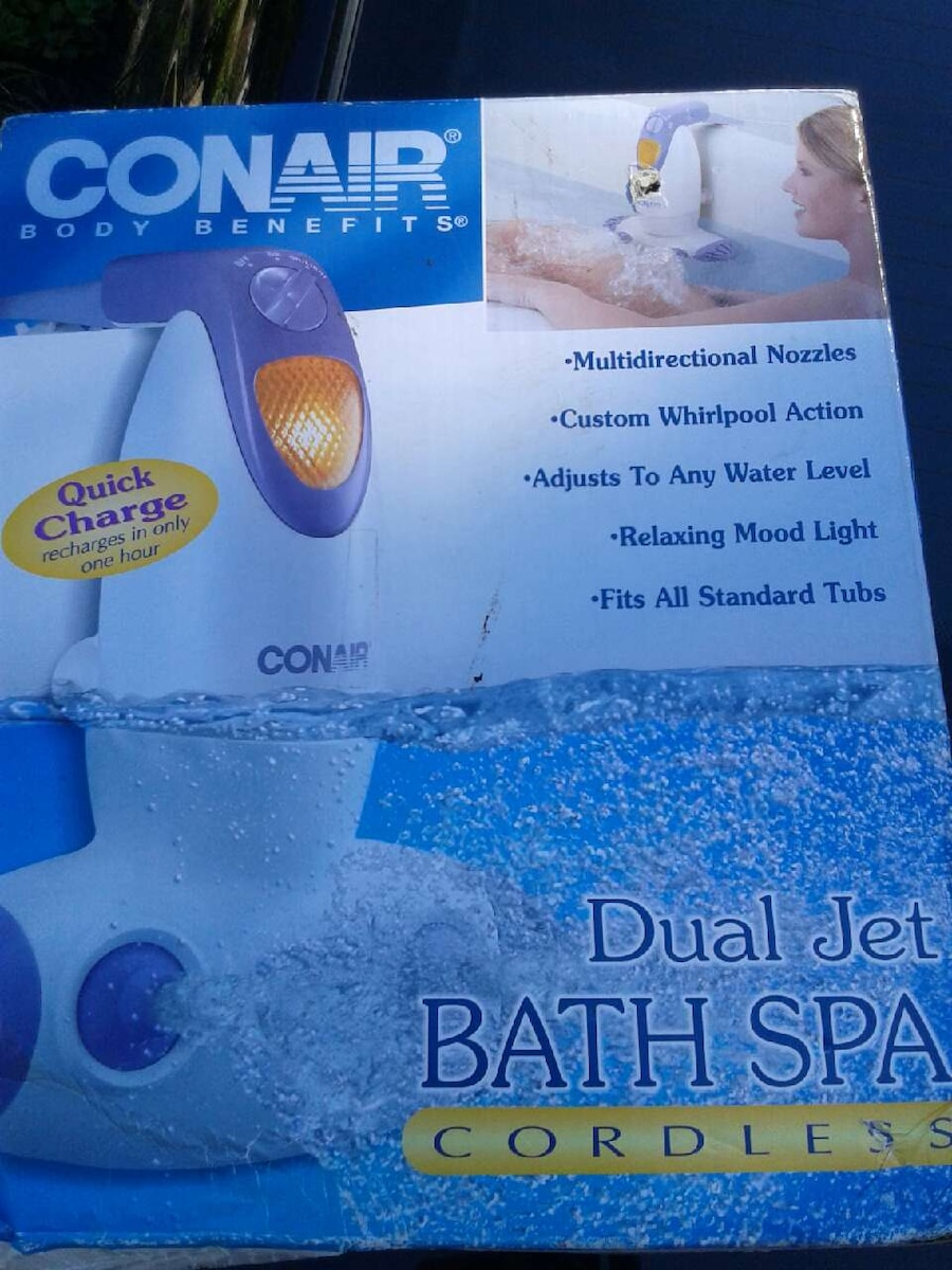 Used Conair dual jet bath spa in Parma - letgo