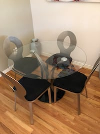 Table and chairs Parker, 80134