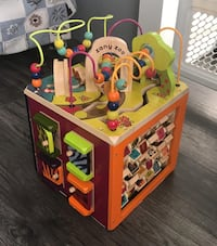 Zany Zoo Activity cube