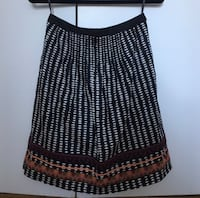 """Purchased at Anthropology, this Edme & Esyllte Woman's Printed Skirt, Size 4, is approximately 21"""" in length. (Tribeca Manhattan) New York, 10007"""
