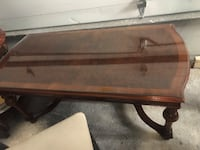 glass top elegant coffee table 939 mi