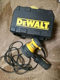 Tools.     DEWALT orbital with case and sanding pads