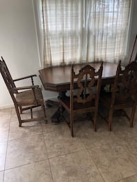 Antique Dining Table + Chairs Imperial Beach, 91932