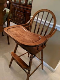 Old school high chair