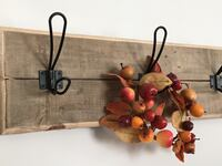 Reclaimed Wood Wall Mount Coat Rack  South Amboy, 08879