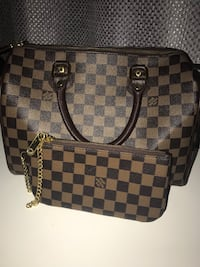 Damier Ebene Louis Vuitton leather tote bag Silver Spring, 20901