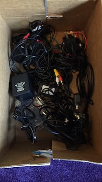 Random chargers and adapters etc..