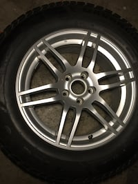 set of 4 tires and rims Mercedes ML winter 2009 to2012 size is 235/65/R17 Brampton, L6R 3M6